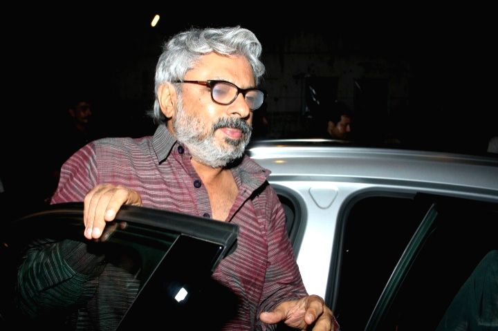 Mumbai: Filmmaker Sanjay Leela Bhansali at the party hosted by Deepika padukone for the succes of film Piku, in Mumbai, on May 18, 2015. (Photo: IANS) - Sanjay Leela Bhansali