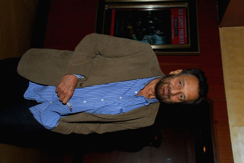 Filmmaker Shekhar Kapur during the screening of film Sulemani Keeda in Mumbai,on Dec 10, 2014. - Shekhar Kapur