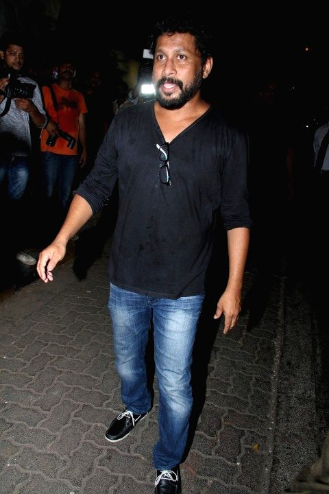 Filmmaker Shoojit Sircar at the party hosted by Deepika padukone for the succes of film Piku, in Mumbai, on May 18, 2015. - Shoojit Sircar