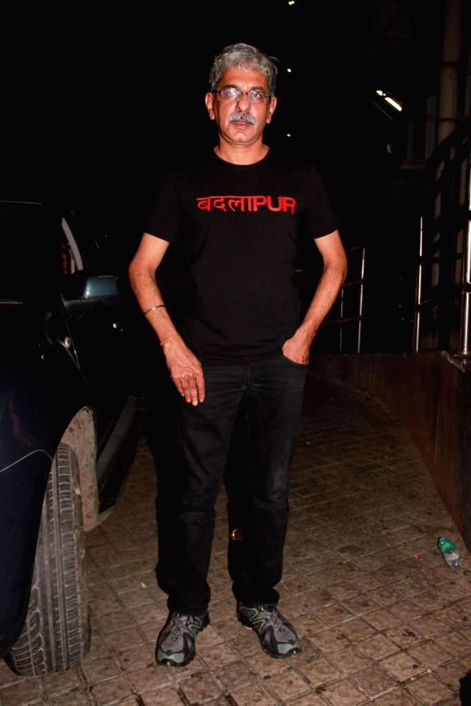Filmmaker Sriram Raghavan during the special screening film Badlapur in Mumbai on Feb 19, 2015. - Sriram Raghavan
