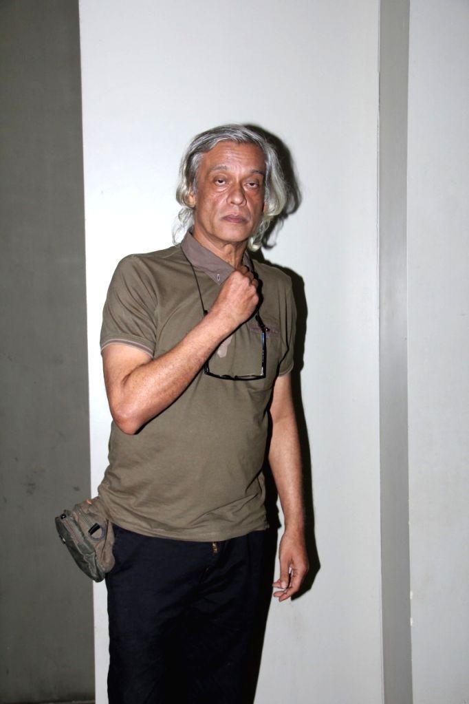 Filmmaker Sudhir Mishra during the special screening of Hollywood film Broken Horses in Mumbai on March 30, 2015. - Sudhir Mishra