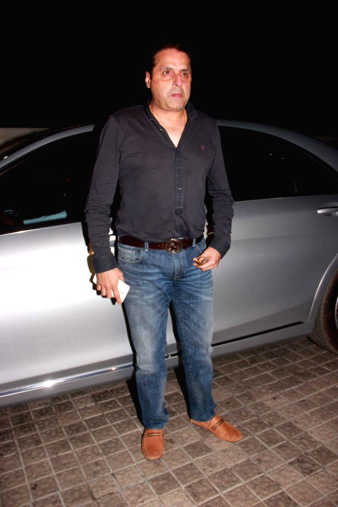 Filmmaker Sunil Lulla during the special screening film Badlapur in Mumbai on Feb 19, 2015. - Sunil Lulla