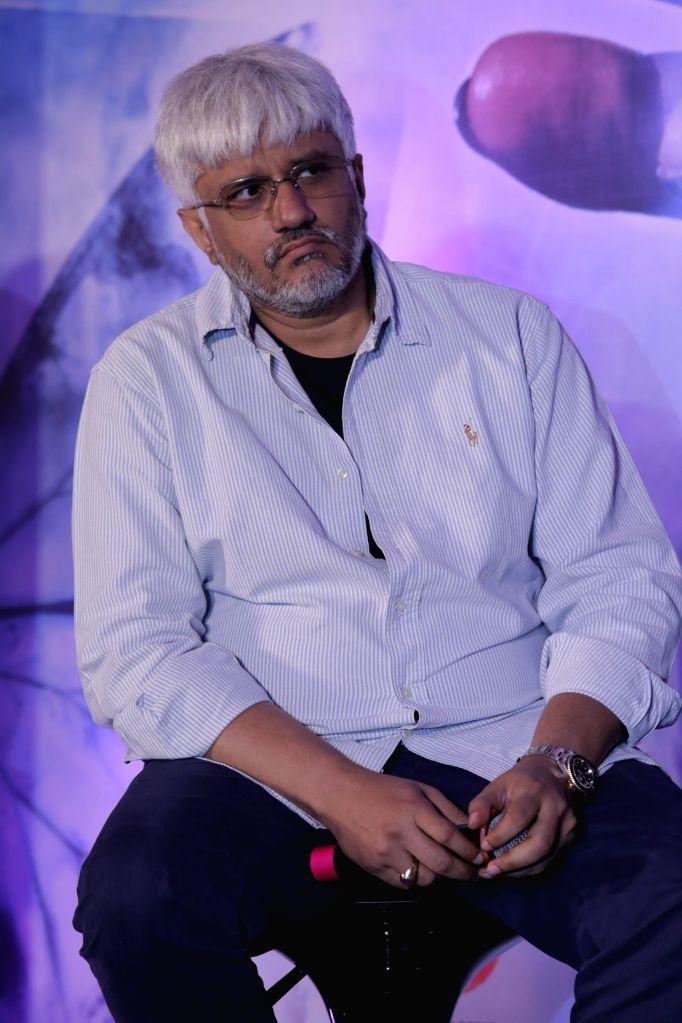Filmmaker Vikram Bhatt during the music launch of film Khamoshiyan in Mumbai on 5th Jan 2015 - Vikram Bhatt