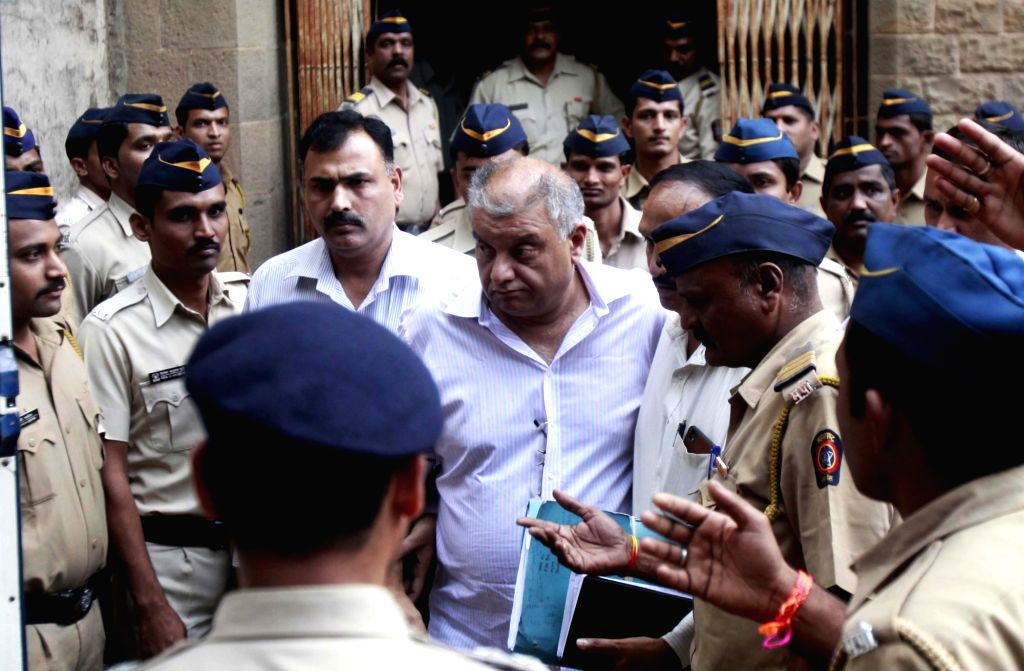 Mumbai: Former media baron Peter Mukerjea, one of the prime accused in the Sheena Bora murder case being taken to be produced before a Mumbai court on Dec 1, 2015. (Photo: IANS)