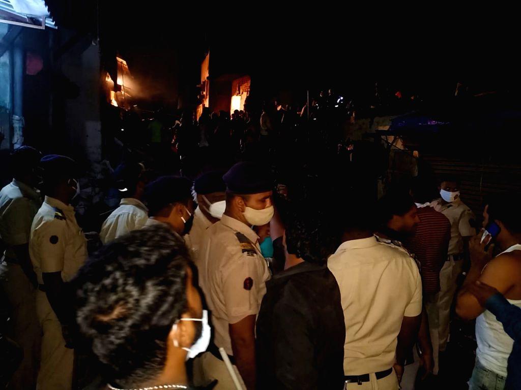 Mumbai house crash killed 11 in Malvani, Malad