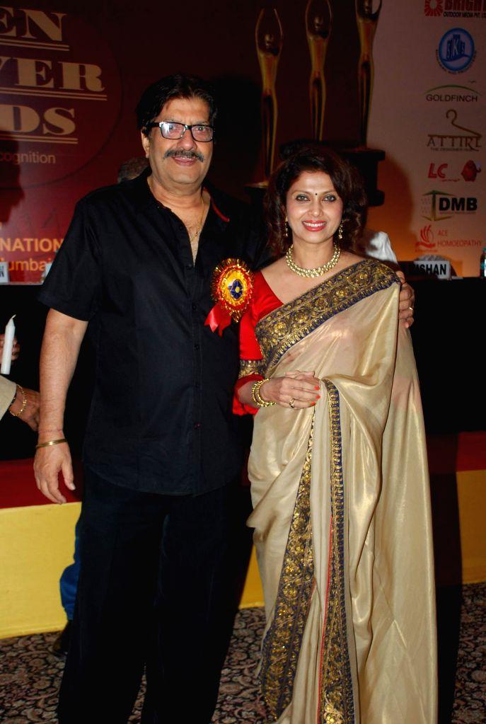 Hrishitaa Bhatt during Golden Achiever Awards in Mumbai on Jan 9, 2015.