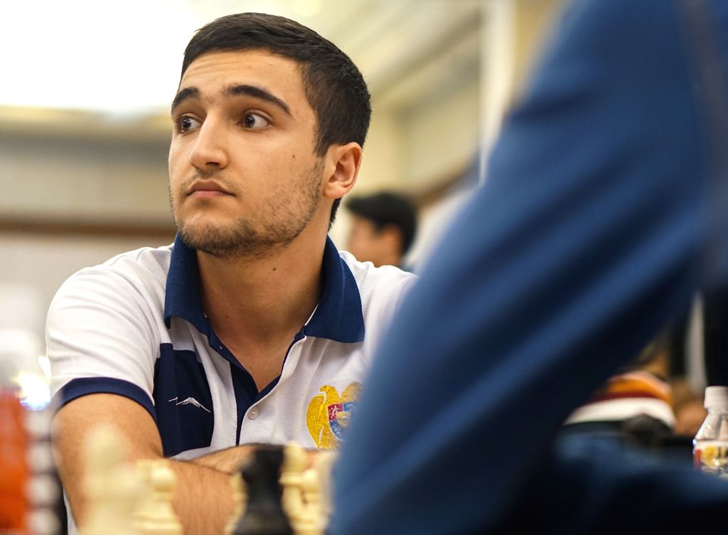 Mumbai: Indian chess player Shant Sargsyan in action during World Youth Chess Championship 2019 in Mumbai on Oct 10, 2019. (Photo: IANS)