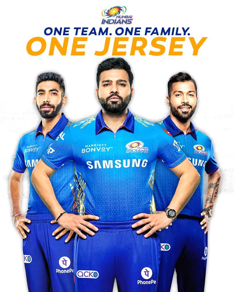 Mumbai Indians unveil new jersey for IPL 2021