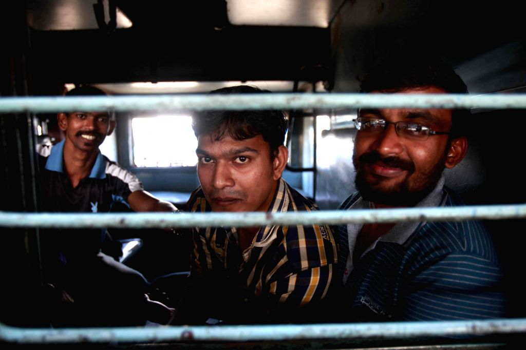 Indians who were evacuated from violence hit Yemen board trains for their hometowns from CST Railway Station in Mumbai, on April 2, 2015.