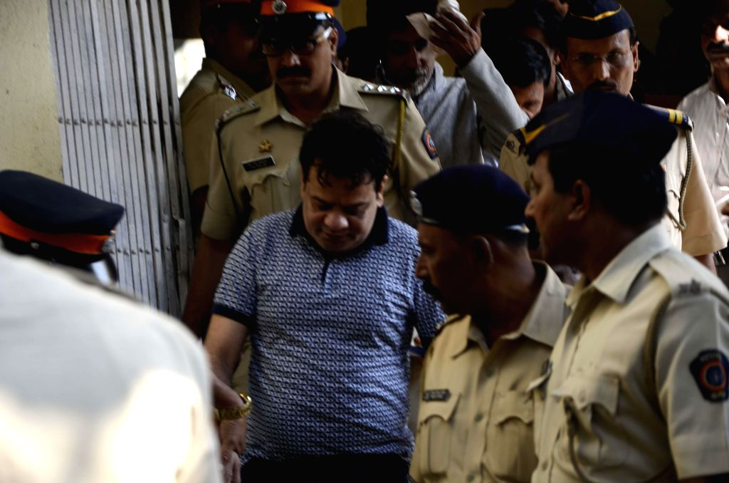 Iqbal Kaskar, younger brother of underworld don, Dawood Ibrahim produced before a court for assaulting a real estate agent and attempting to extort Rs 3 Lakh from him in Mumbai on Feb. 4, ...