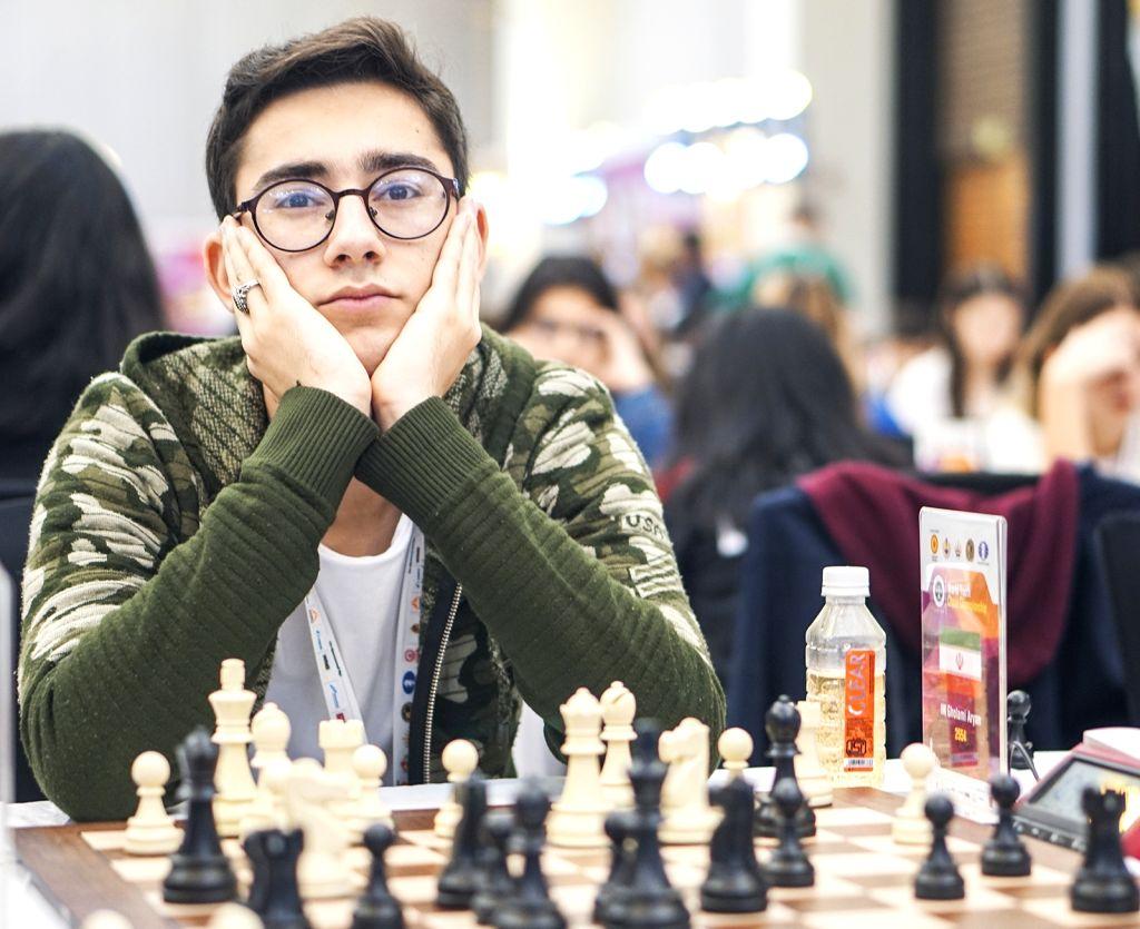 Mumbai: Iran's Aryan Gholami at World Youth Chess Championship in Mumbai on Oct 6, 2019. (Photo: IANS)