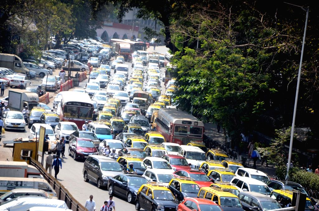 Mumbai is the most traffic congested city in the world, while Delhi is close behind at fourth position, an analysis of traffic congestion in 403 cities across six continents has revealed. (Photo: IANS)