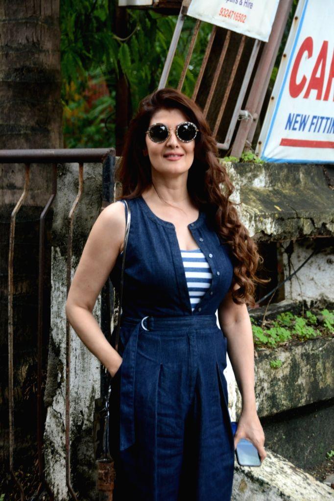 Mumbai, July 31 (IANS) Actress Sangeeta Bijlani will be sharing a glimpse of her life, fitness routine and spiritual journey on her YouTube channel. - Sangeeta Bijlani