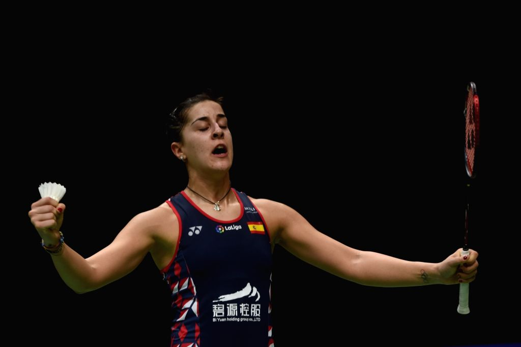 Mumbai, July 6 (IANS) Olympic gold medallist Carolina Marin has said it will take some time before she can reach here previous levels due to the implications put forward by the coronavirus pandemic.