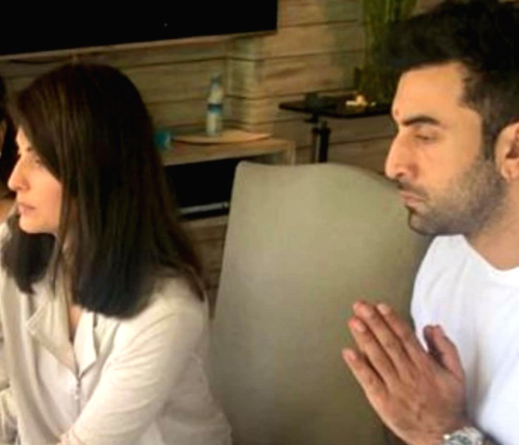 """Mumbai, June 17 (IANS) The late Rishi Kapoor's daughter Riddhima says she still fights """"all the time"""" with her brother Ranbir Kapoor. - Rishi Kapoor and Ranbir Kapoor"""