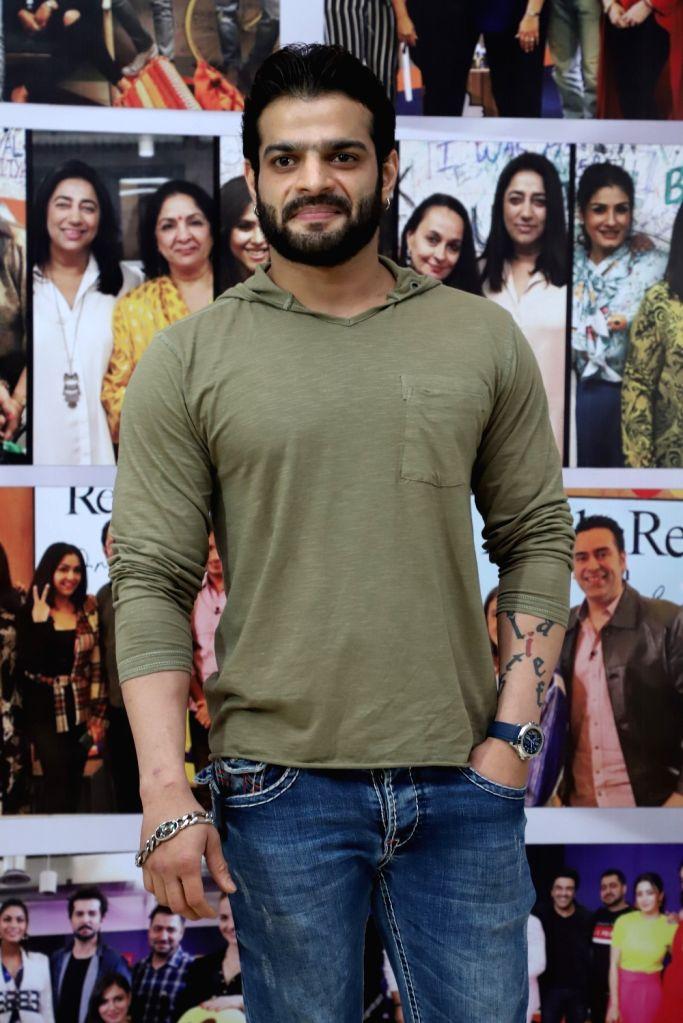 "Mumbai, June 25 (IANS) Actor Karan Patel is looking forward to playing the new Mr Bajaj in ""Kasautii Zindagii Kay"". - Karan Patel"