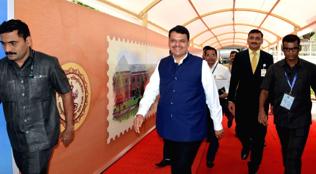 Mumbai: Maharashtra Chief Minister Devendra Fadnavis arrives at the State Assembly on the fourth day of the Monsoon session of the assembly, in Mumbai on June 20, 2019. (Photo: IANS) - Devendra Fadnavis
