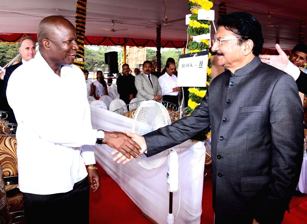 Maharashtra Governor Chennamaneni Vidyasagar Rao during a programme organised on Maharashtra Day in Mumbai, on May 1, 2015. - Chennamaneni Vidyasagar Rao