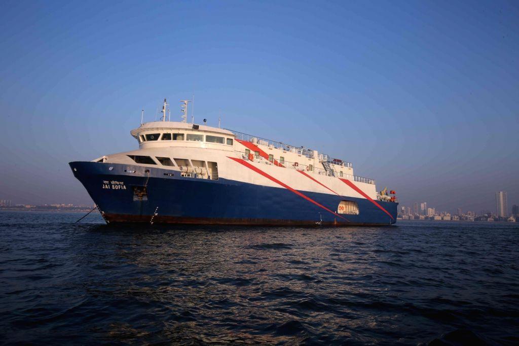 Mumbai Maiden - the city's first coastline cruise. (File Photo: IANS)
