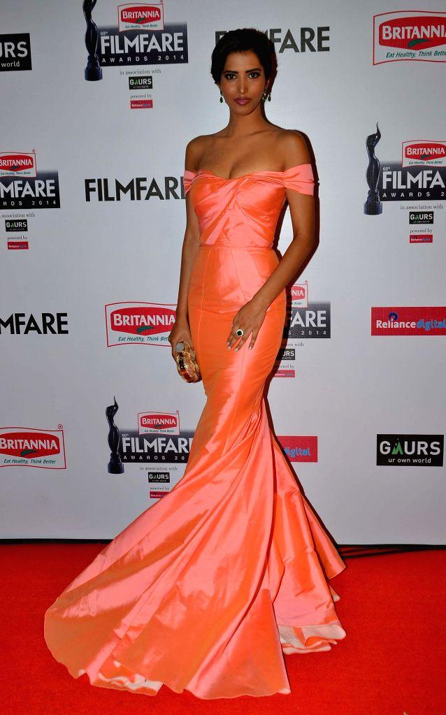 Manasvi Mamgai during the 60th Britannia Filmfare awards in Mumbai, on January 31, 2015.