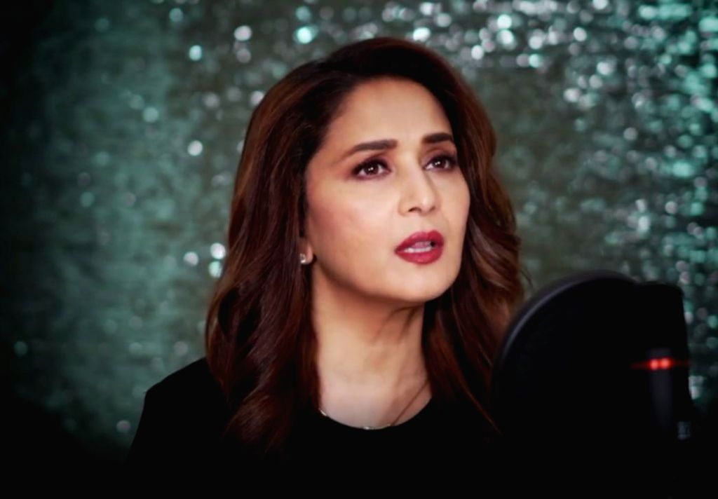 """Mumbai, May 26 (IANS) Several Bollywood stars took to social media to gush over Madhuri Dixit's just-released debut single """"Candle"""" on Tuesday - Madhuri Dixit"""