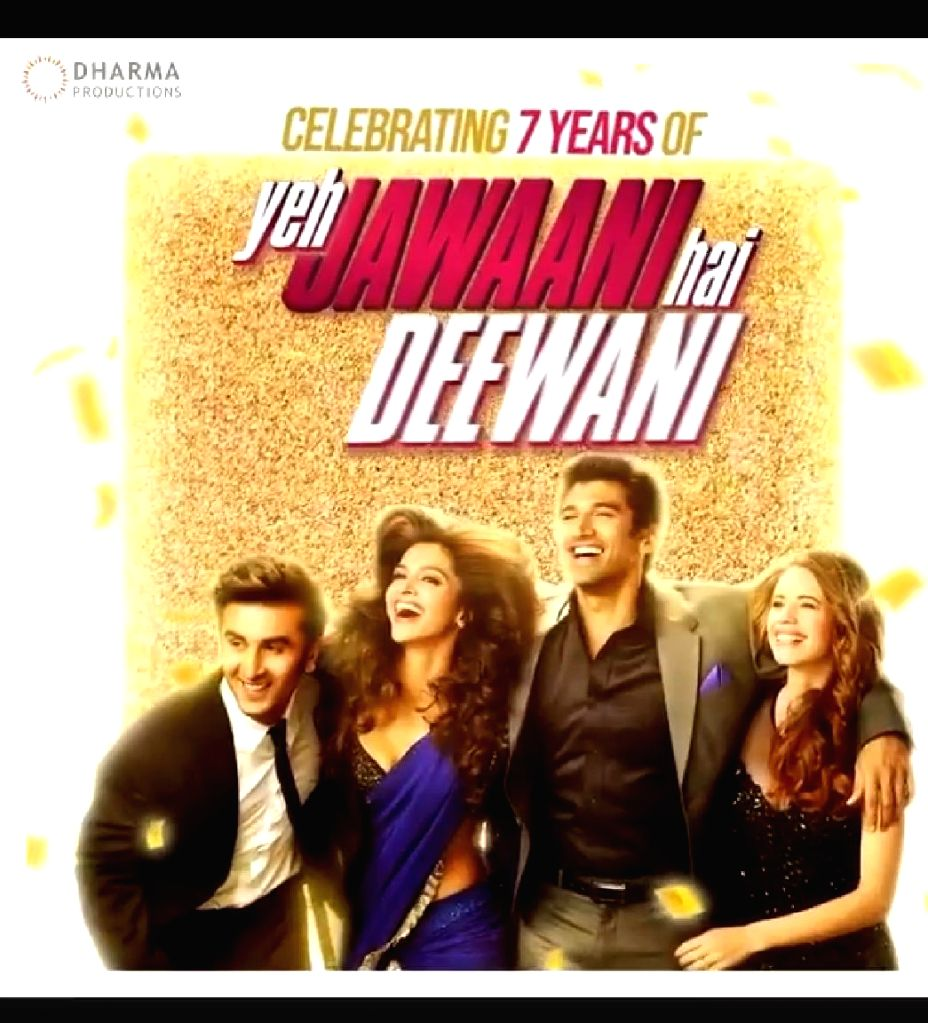 """Mumbai, May 31 (IANS) As """"Yeh Jawaani Hai Deewani"""" (YJHD) clocked seven years on Sunday, actress Deepika Padukone went down memory lane and shared a few unseen pictures of herself with Ranbir Kapoor from their first look test for the blockbuster movi - Deepika Padukone and Ranbir Kapoor"""
