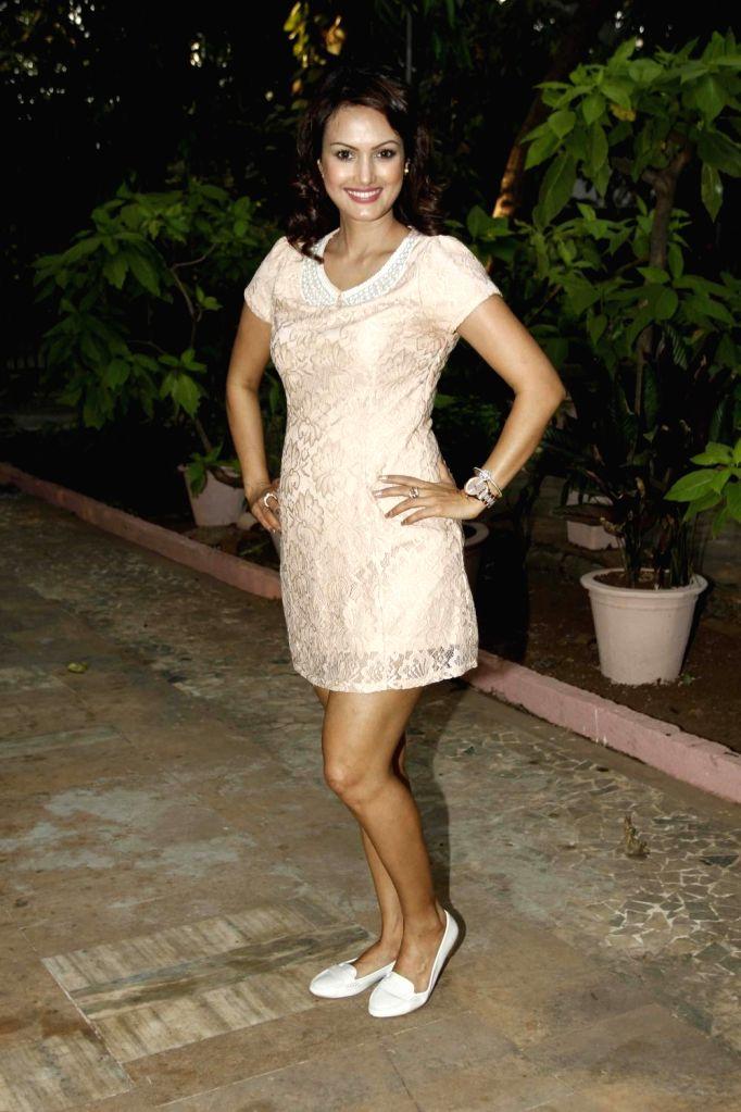 Mumbai, May 8 (IANS) Actress Nisha Rawal has slammed people who belly-shamed her by asking if she is pregnant. - Nisha Rawal