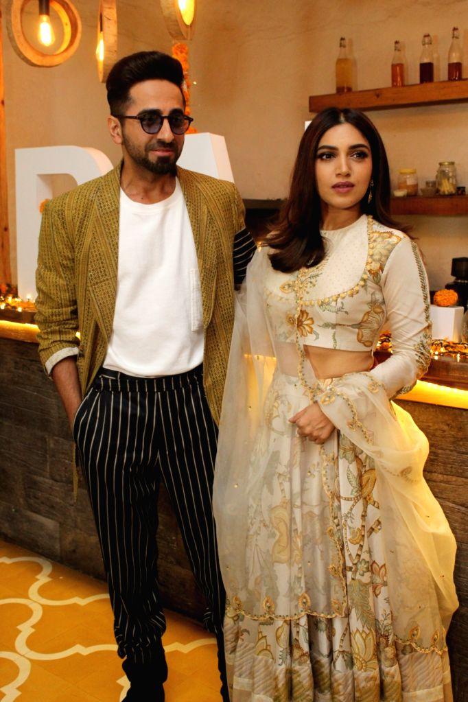 "Mumbai, May 9 (IANS) Actor Ayushmann Khurrana recently called up ""homie"" Bhumi Pednekar, and they reminisced working together on the 2015 rom-com ""Dum Laga Ke Haisha"". - Ayushmann Khurrana"