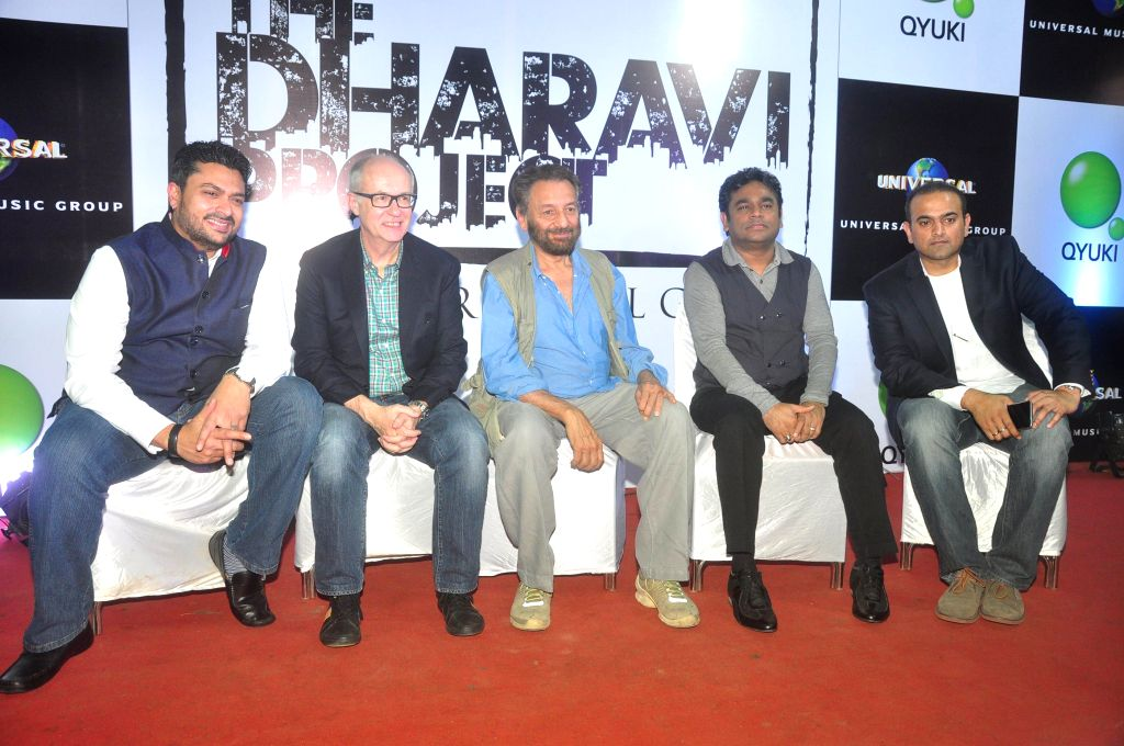 Music composer AR Rahman and filmmaker Shekhar Kapur have come together to discover and nurture talents from the world's largest slum Dharavi in Mumbai on 15th Jan 2015