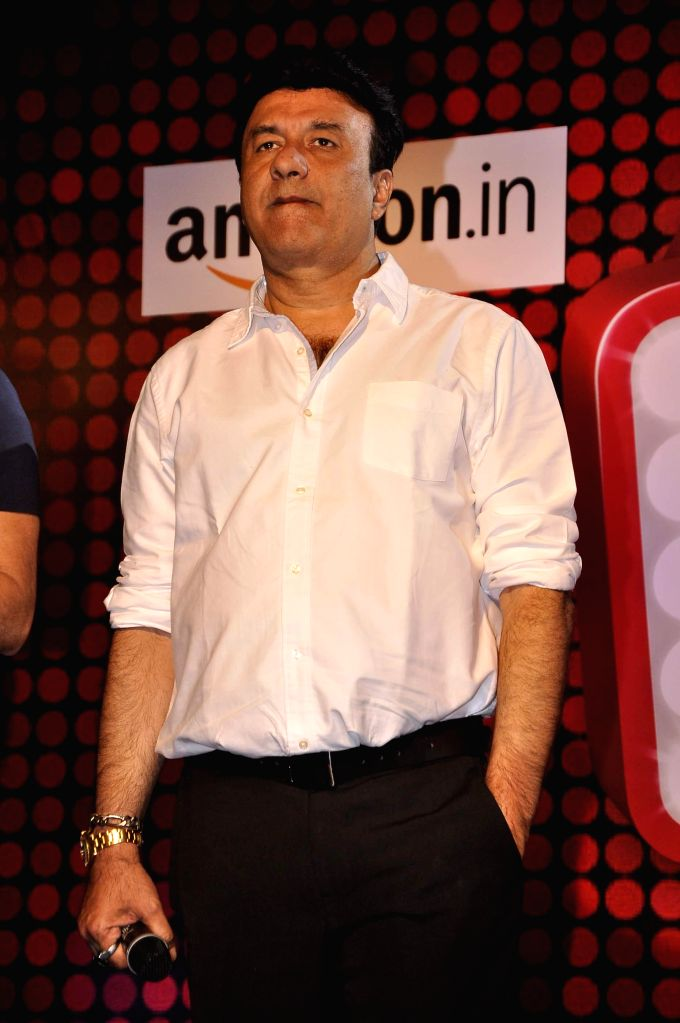 Music director Anu Malik during the launch of new reality show India's Digital Superstar (IDS) by Fremantle Media in Mumbai, on Jan. 19, 2015. - Malik