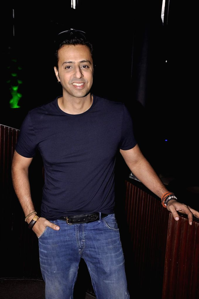 Music director Salim Merchant during the launch of new reality show India's Digital Superstar (IDS) by Fremantle Media in Mumbai, on Jan. 19, 2015.