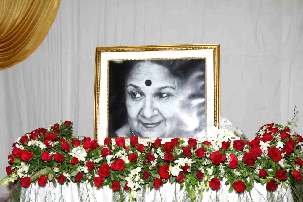 Prayer meet of Sudha Shivpuri
