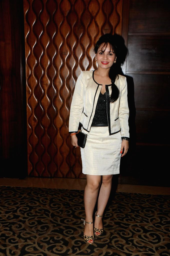 Preeti Sood during the launch of film Melody in Mumbai, on November 20, 2014.