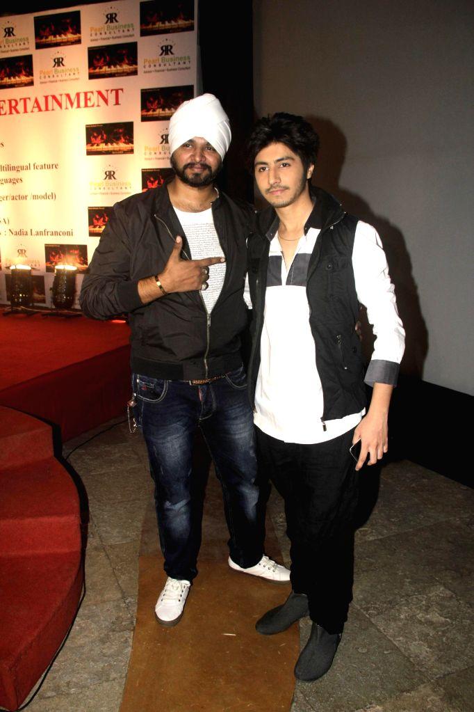 Ramji gulati with Arjuna Harjai during the launch of film Melody in Mumbai, on November 20, 2014.
