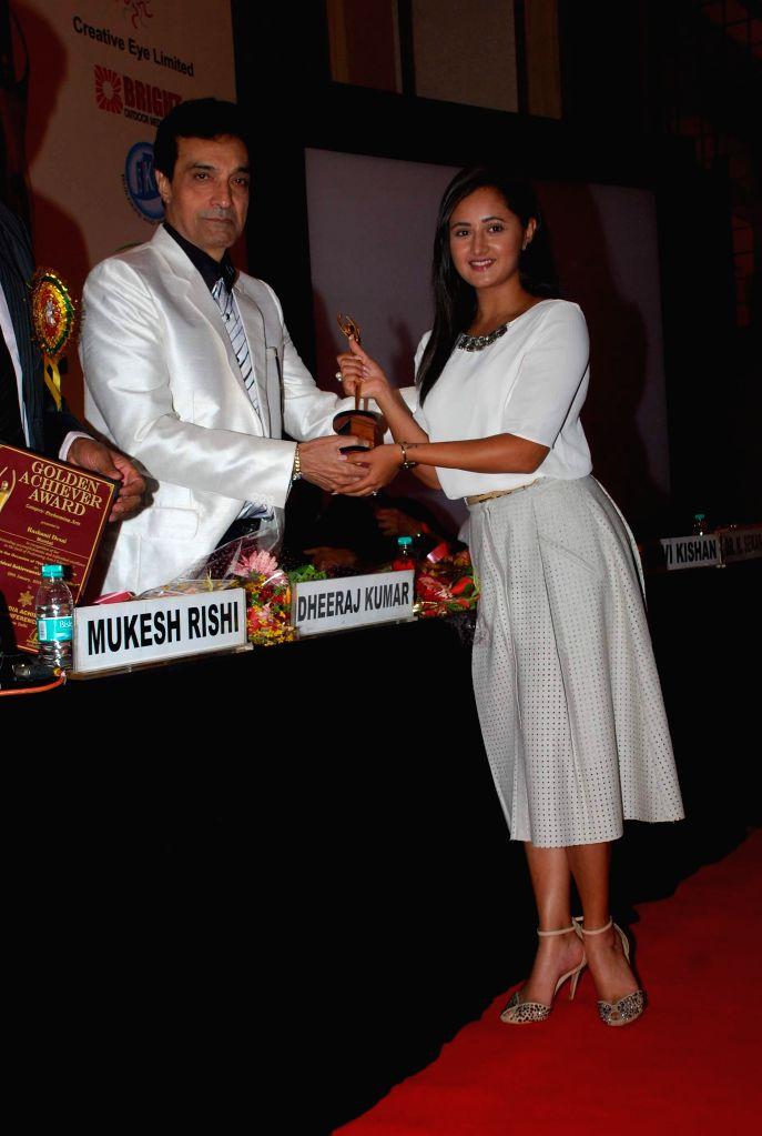 Rashmi Desai during Golden Achiever Awards in Mumbai on Jan 9, 2015. - Rashmi Desai