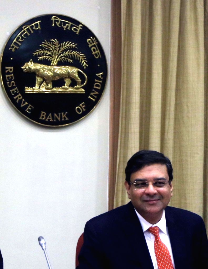 : Mumbai: RBI Governor Urjit Patel addresses a press conference to announce the first bi-monthly monetary policy review of the fiscal, in Mumbai on April 5, 2018. (Photo: IANS).