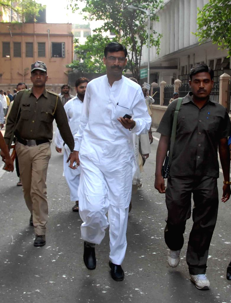 Rubabuddin Sheikh, brother of deceased Sohrabuddin comes of a CBI court, after it discharged BJP chief Amit Shah in the case of the alleged fake encounter killings of Sohrabuddin Sheikh, his . - Amit Shah