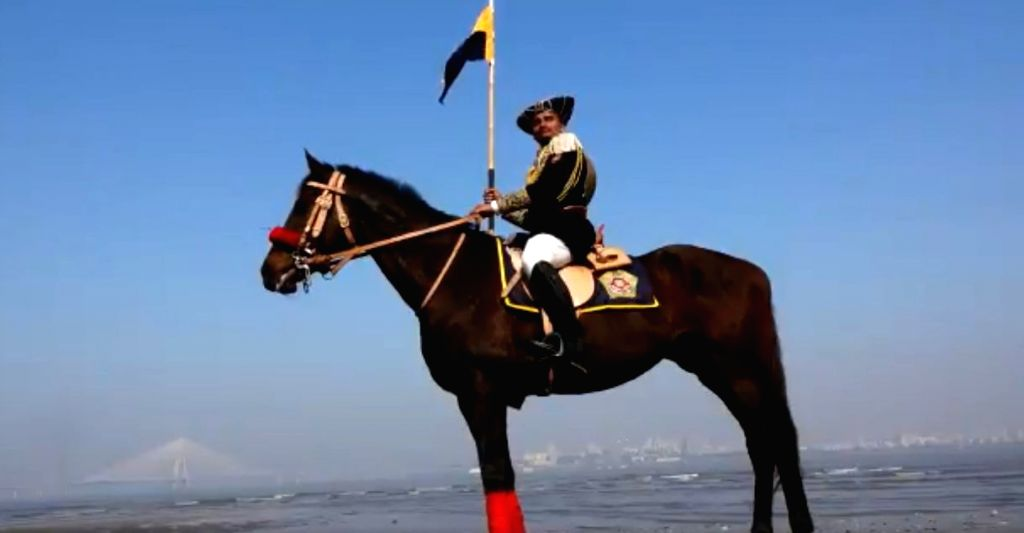 Mumbai's mounted police unit dress sparks debate.