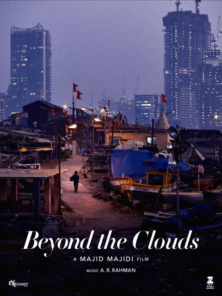 Mumbai\'s slums meet skyscrapers in new \'Beyond The Clouds\' poster