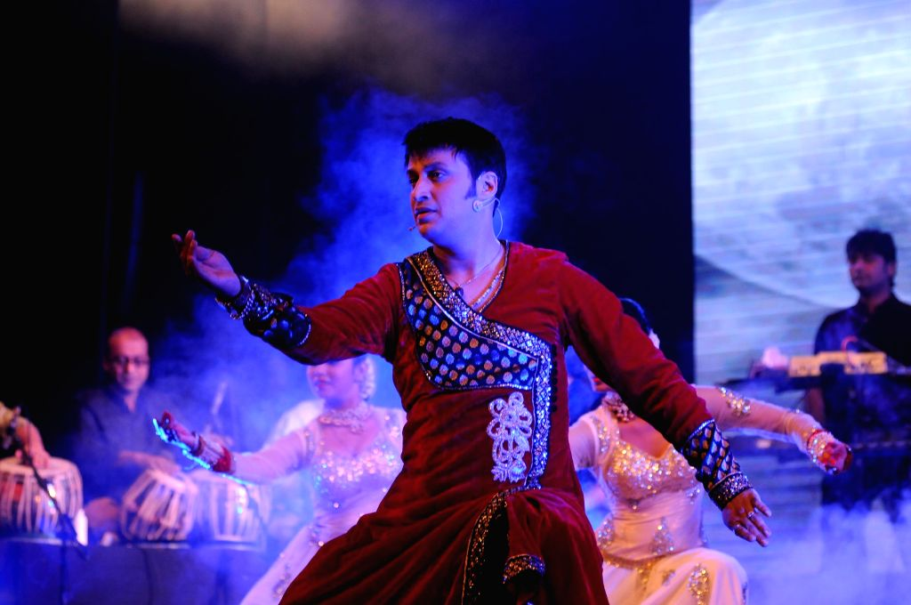 Sandeep Mahavir Performs during a music concert `Ru-Ba-Ru -The Soul of Fusion` spearheaded by Sandeep Mahavir in Mumbai, on Feb 11, 2015.