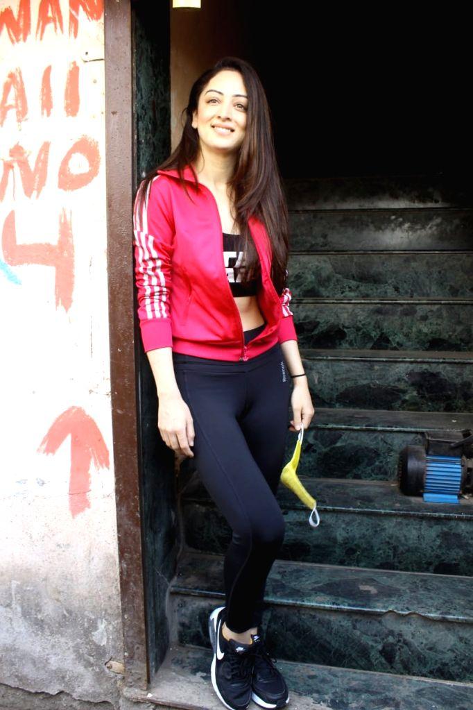 Mumbai: Sandeepa Dhar spotted in Andheri on  Wednesday 17th February 2021. (Photo: IANS)