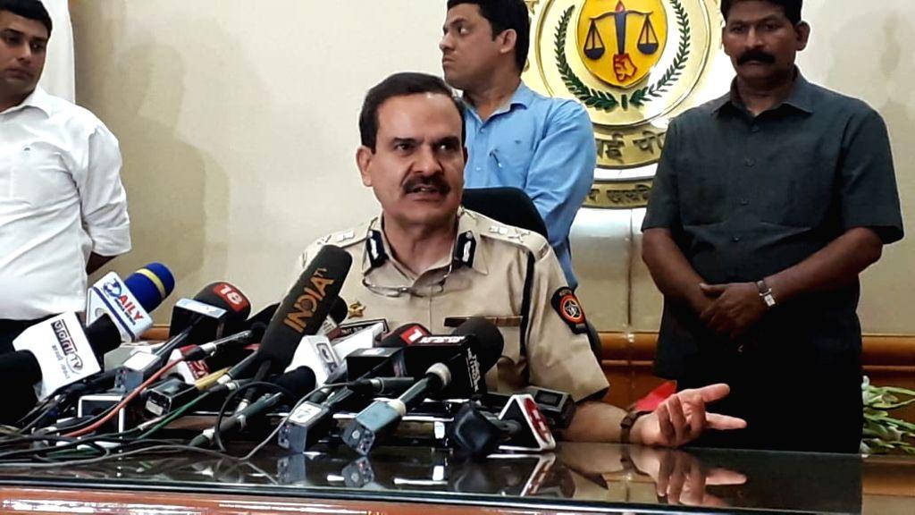 Mumbai: Senior IPS officer Param Bir Singh talks to press after appointed as the new Police Commissioner of Mumbai, in Mumbai, on Feb 29, 2020. (Photo: IANS) - Param Bir Singh