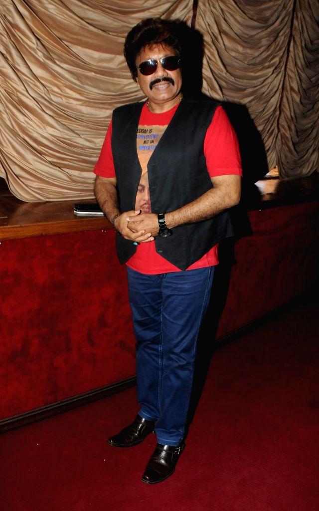 Shravan Rathod during a music concert `Ru-Ba-Ru -The Soul of Fusion` spearheaded by Sandeep Mahavir in Mumbai, on Feb 11, 2015.