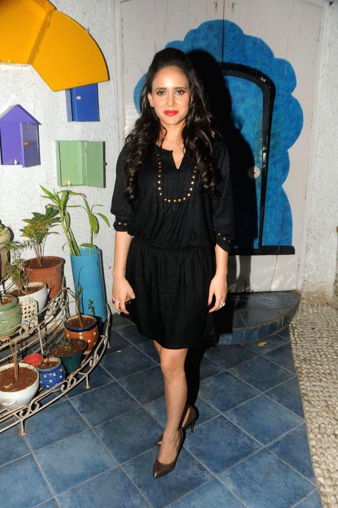 Shweta Khanduri during the song launch of film Titto MBA in Mumbai, on Nov. 4, 2014.