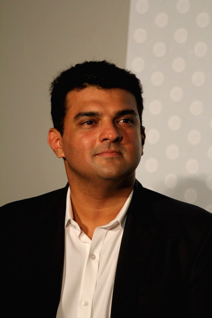 Siddharth Roy Kapur, MD, Disney India, during the trailer launch of film Any Body Can Dance 2 (ABCD 2) in Mumbai, on April 23, 2015. - Siddharth Roy Kapur
