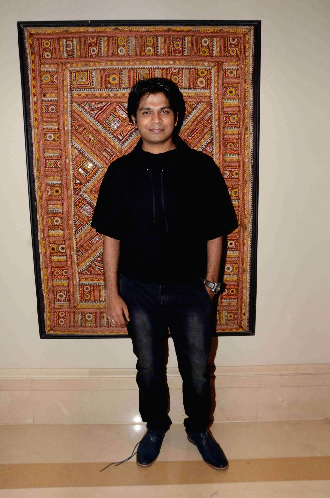 Singer Ankit Tiwari during the 16th IIFA Voting Weekend, in Mumbai on March 13, 2015.
