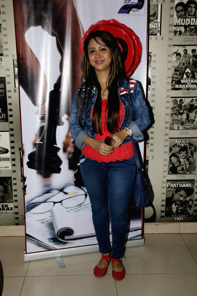 Singer Rani Hazarika during the muhurat and song recording of film JD in Mumbai, on 5th Jan 2015