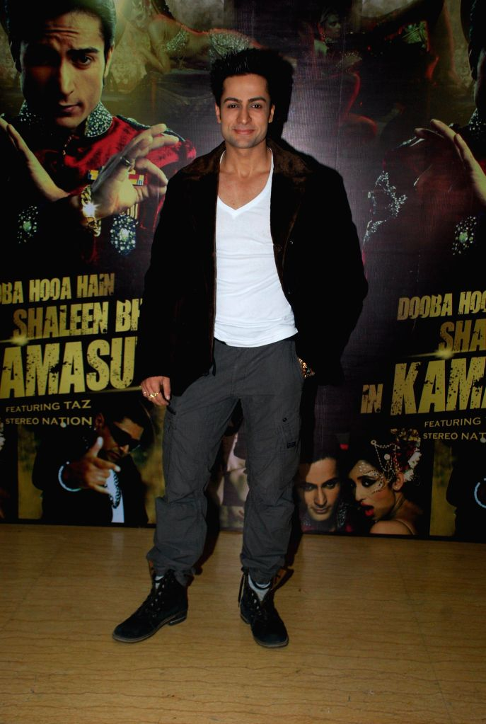 Singer Shaleen Bhanot during the launch of music album Kamasutra in Mumbai, in Mumbai on Jan. 15, 2015.