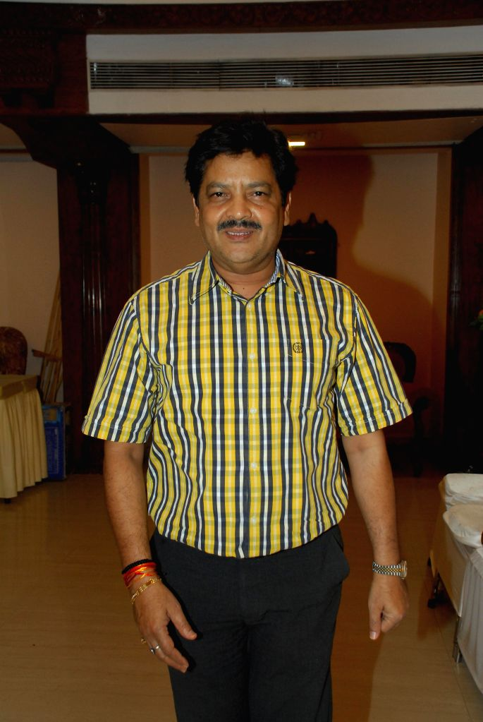 Singer Udit Narayan during the condolence meeting organised in the memory of late Eminent Kathak Dancer Sitara Devi in Mumbai, on December 4, 2014.