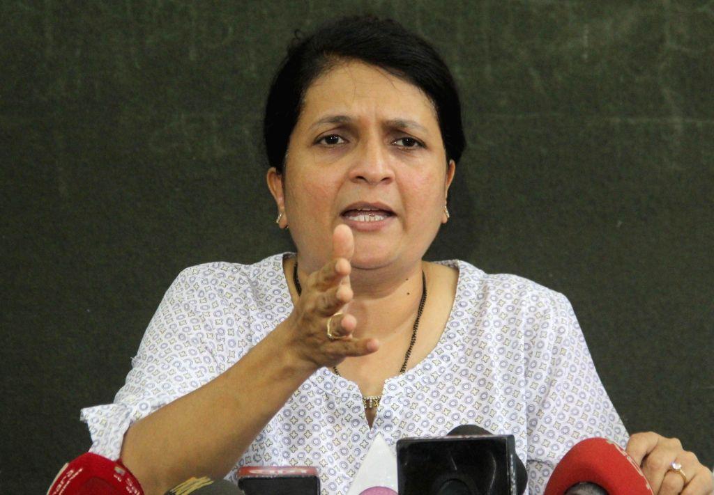Mumbai: Social activist Anjali Damania   (Photo: IANS)